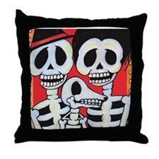 Unique Rockabilly Throw Pillow