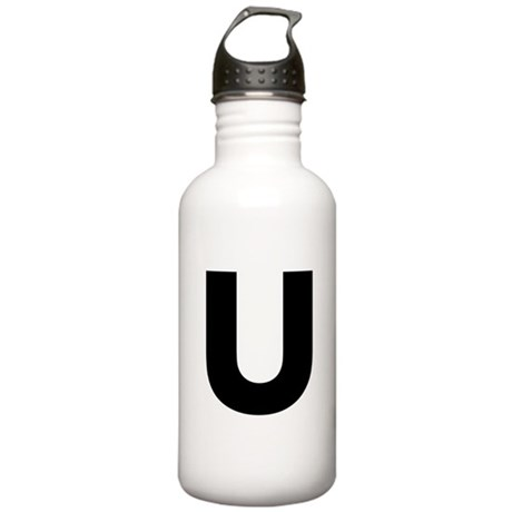 Letter U Stainless Water Bottle 1.0L