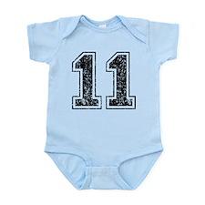 Retro 11 Infant Bodysuit