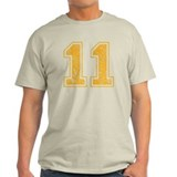 Yellow Retro 11 T-Shirt