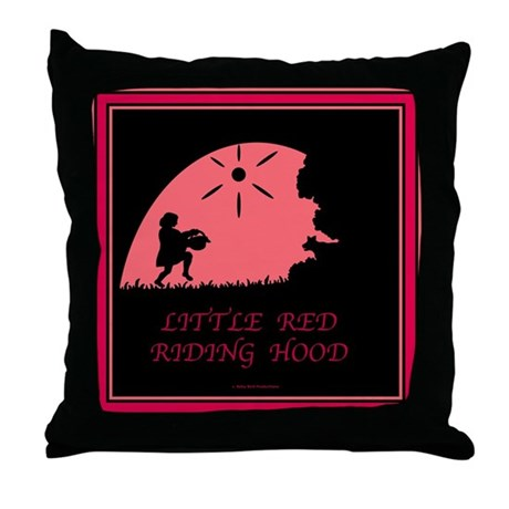 Little Red Riding Hood Throw Pillow