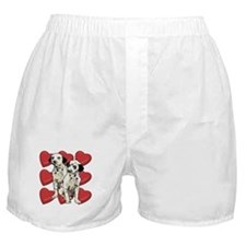 Dalmatian Puppy Love Boxer Shorts