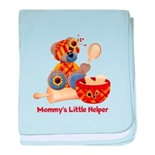 Customizable Cooking Helper baby blanket