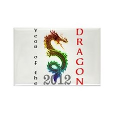 Year of the Dragon 2012 Rectangle Magnet (10 pack)