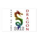 Year of the Dragon 2012 Postcards (Package of 8)