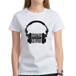 Custom QR Headphones Women's T-Shirt