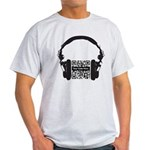 Custom QR Headphones Light T-Shirt