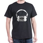 Custom QR Headphones Dark T-Shirt