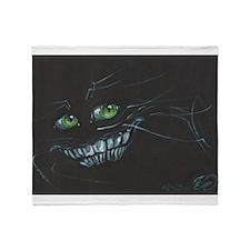 Cheshire Cat Throw Blanket