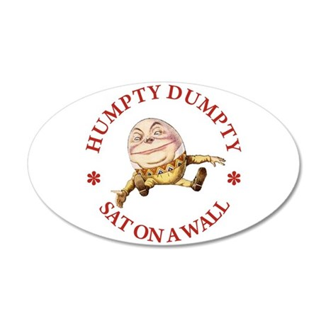 Humpty Dumpty 22x14 Oval Wall Peel