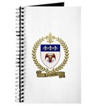 LALIBERTE Family Crest Journal