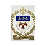 LALIBERTE Family Crest Rectangle Magnet
