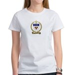 LALIBERTE Family Crest Women's T-Shirt