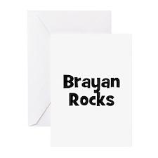 Brayan Rocks Greeting Cards (Pk of 10)