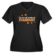 We Are All Made Of Stardust Women's Plus Size V-Ne