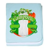 Campbell Shield baby blanket