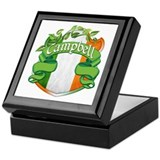 Campbell Shield Keepsake Box