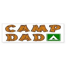 Camp Dad Bumper Bumper Sticker