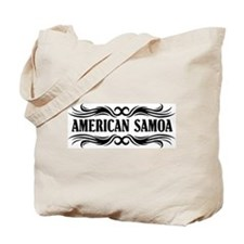 Tribal American Samoa Tote Bag