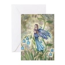 Blue Bell Fairy Greeting Cards (Pk of 20)