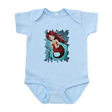 Ruby Mermaid Infant Bodysuit