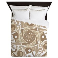 Celtic Stepping Stone Queen Duvet Cover
