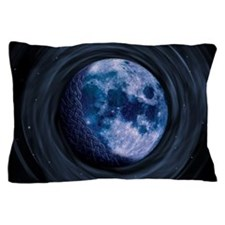 Celtic Blue Moon Pillow Case