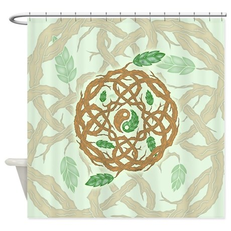 Celtic Balance Shower Curtain