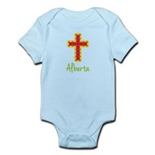 Alberta Bubble Cross Onesie