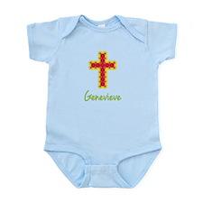 Genevieve Bubble Cross Infant Bodysuit
