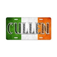 Cullen Shield Aluminum License Plate