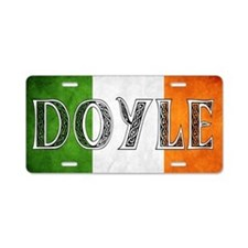 Doyle Shield Aluminum License Plate