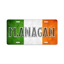 Flanagan Shield Aluminum License Plate
