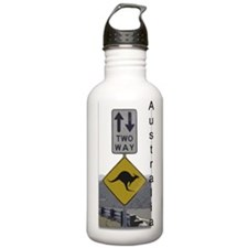 Cute Vacation Sports Water Bottle