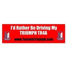 Toronto Triumph Club TR4A Bumper Stickers
