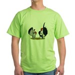 Serama Bantams Green T-Shirt