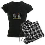 Serama Bantams Women's Dark Pajamas