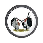 Serama Bantams Wall Clock