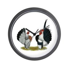 Serama Bantams Wall Clock