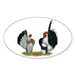 Serama Bantams Sticker (Oval 50 pk)