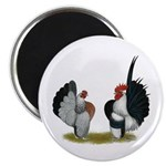 "Serama Bantams 2.25"" Magnet (100 pack)"