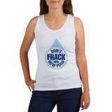 Stay the frack out! Women's Tank Top