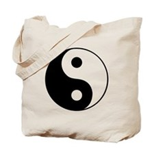 Tote Bag-ying and yang -no more love