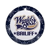 Bailiff Gift (World's Best) Ornament