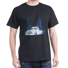 Flamed 56 Pickup Truck T-Shirt