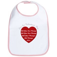 Our 1st Valentine's Day Bib