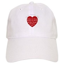 Our 1st Valentine's Day Baseball Cap