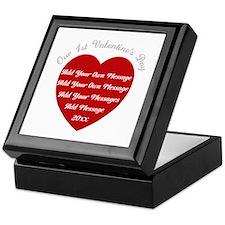 Our 1st Valentine's Day Keepsake Box