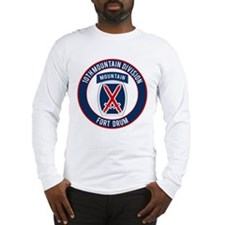 10th Mountain Ft Drum Long Sleeve T-Shirt