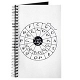 Cute Circle of fifths Journal